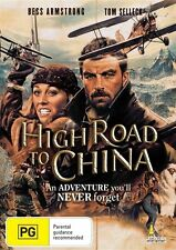 High Road To China Tom Selleck  (PAL Format DVD Region 4)New Sealed