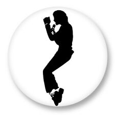 Pin Button Badge Ø38mm Music Musique Michael Jackson King of Pop MJ Bad