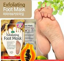 "exfoliating foot mask,""SOCK-TYPE' calluses,dead skin cells,wearable mask,1 pair"