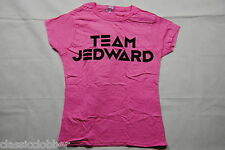 JEDWARD TEAM PINK LADIES SKINNY T SHIRT SMALL NEW OFFICIAL PLANET VICTORY