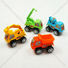 set of 4 colorful construction truck car toy kid boy party birthday Xmas gift