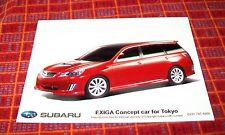 SUBARU EXIGA  CONCEPT CAR FOR TOKYO PRESS PHOTOGRAPH