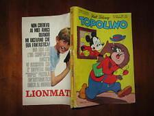 WALT DISNEY TOPOLINO LIBRETTO NUMERO 639 PRESENTI PUNTI CLUB 25 FEBBRAIO 1968