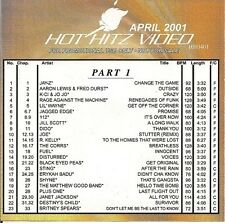 ETV Hot Hitz- April 2001 4 HR PROGRAM