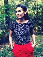 Anthropologie Brigadier Skirt Size 10, Red Pinwale Corduroy Pencil By Odille