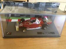 1977 Niki Lauda Ferrari 312 T2 brasileño Grand Prix 1:43 escala F1 Coche-Panini