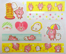 Japanese Kanahei stickers! Kawaii Piske & Usagi emoji stickers! Planner stickers