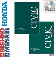 2006 2007 2008 2009 Honda Civic Hybrid Shop Service Repair Manual CD OEM Guide