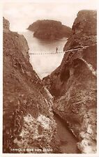 BR60608 carrick a rede rope bridge real photo  northern ireland