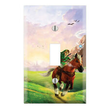 Legend of Zelda Decorative Single Toggle Light Switch Wall Plate Cover ZD01