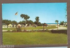VINTAGE POSTCARD UNUSED THE EAST WIND MOTOR LODGE OGUNQUIT MAINE