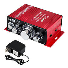 Kinter MA-170 12V 2CH Mini HIFI Amplifier for Car Motorcycle DVD MP3 + 3A Power