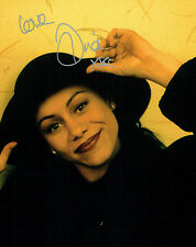 Dina CARROLL Signed Autograph 10x8 Photo AFTAL COA American Singer Actress