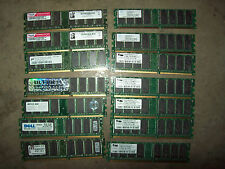 1x 512MB DDR1 PC3200 400M/T CL3 (2700 333 2.5)Desktop RAM memory EXTRA SHIP FREE