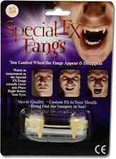 Special FX Fangs Custom Fit Retractable Movie Quality Vampire Halloween Teeth