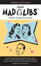 Keepers and Losers Mad Libs (Adult Mad Libs)  (ExLib)