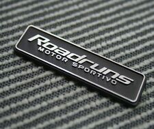 [Kspeed] (Fits all Type Cars) Roadruns Aluminum Emblem RSM -3 2 in one