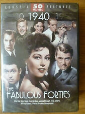 NEW sealed THE FABULOUS FORTIES 50 Classic Movies on 12 DVD discs