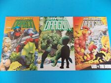 The Savage Dragon #4 2-in-one, #75 double sized, #31 God vs the Devil Comic Book