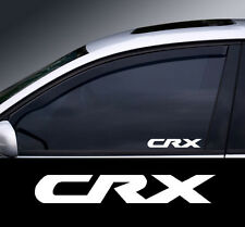 2 x Honda CRX Logo Window Decal Sticker Graphic *Colour Choice*