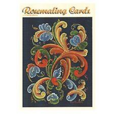 Rosemaling Norway Blank Cards Set, NEW