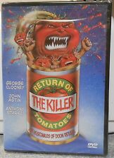 Return of the Killer Tomatoes (DVD 2002) RARE CLOONEY 1988 BRAND NEW ANCHOR BAY