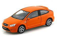 WELLY 1:32 DISPLAY FORD FOCUS ST Diecast Car Orange