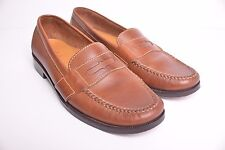 Cole Haan Douglas Saddle Tan Leather Casual Penny Loafers EUC Men's size 10.5 N