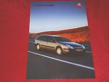 CITROEN C5 Kombi X SX Exclusive Prospekt von 2002