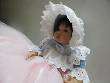 "VINTAGE DOLL DRESS OUTFIT FOR 18"" BABY DOLL,  PORCELAIN BISQUE OR REBORN DOLL"