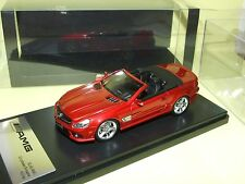 MERCEDES SL 65 AMG Cabriolet Rouge ABSOLUTE HOT 1:43