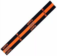 MLB San Francisco Giants  Elastic Headbands (3 in Pack)