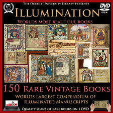 Occult Books Illumination Illuminated Manuscripts Leaves Ancient Esoteric Art