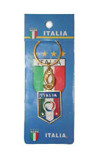 ITALIA ITALY FIGC LOGO FIFA SOCCER WORLD CUP METAL KEYCHAIN .. NEW