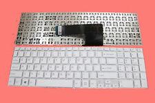 New Sony Vaio SVF15 Fit SVF152C29M SVF152C29L Keyboard White 149239821US