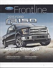 Original/Official Ford Frontline Magazine Oct/Nov 2014 2015 F-150 Mustang News