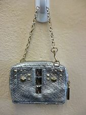 Authentic Juicy Couture - Deco Phone Wristlet - Silver Snake -  Retails for $128