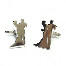 Ballroom Dancing Couple CUFFLINKS Dancers Strictly Winner GIFT Birthday Present