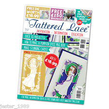 Tattered Lace Magazine Issue 34 + Free Art Nouveau style die EVELYN  Free UK p&p