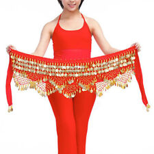 Professional 320 Silver Coins Belly Dance Dancing Hip Scarf Costume Belt 9C