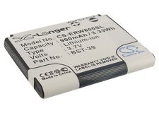 Li-ion Battery for Sony-Ericsson J120i W700i W600c W550c J230i W800c K200i W550i