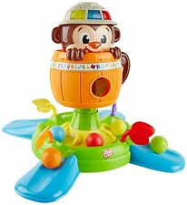 Bright Starts BABY TOY, Hide 'n Spin Monkey Baby DEVELOPMENTAL TOY