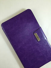 FUNDA CARCASA PARA TABLET S7 HUAWEI MEDIAPAD 7 YOUTH CIERRE IMAN COLOR MORADO
