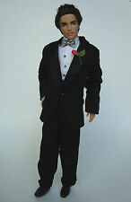 Barbie/KEN Clothes/Fashion KEN BLACK TUXEDO W/ Shirt/Pants/Socks/Shoes NEW!
