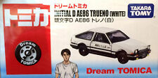 Tomy Tomica Dream Series Initial D AE86 Toyota Trueno Front White Top (Retired)