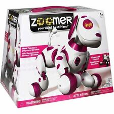 NEW  Zoomer Zoomie - PINK Dalmation Puppy Interactive Dog Toy Learn Tricks Play