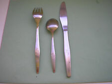 LOT 3  COUVERTS AIR  FRANCE ANNEES 60''  CHRISTINOX FLATWARE SPOON