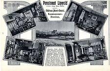 Pensionat Lippold Lausanne- Rosiaz Chateau Mont- Choisi Historische Reklame 1909