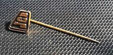 JCB Spilla Trattori verniciato d'oro 9x8mm vecchio+ originale