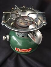 VINTAGE NICE 1970 COLEMAN 502-700 SPORTSTER CAMP STOVE IN ORIGINAL BOX